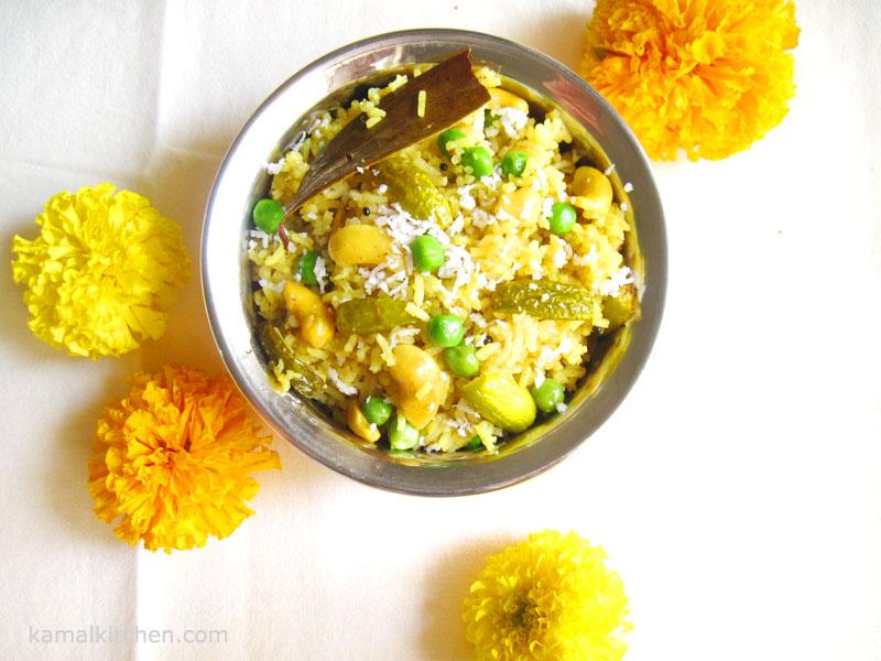 masalebhat - marathi recipe