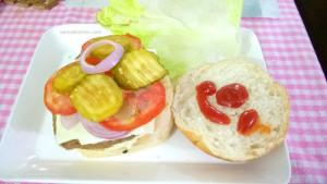 Mushroom Lentil Burger