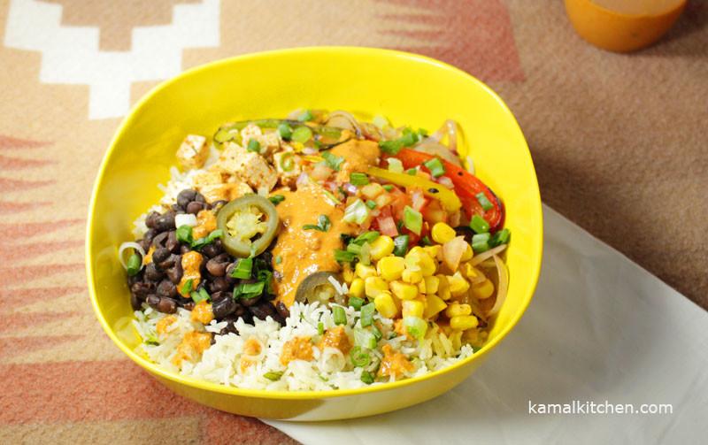 Chipotle Burrito Bowl Recipe | Chipotle Vegetarian Bowl