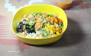 Mexican Burrito Bowls - chipotle bowls