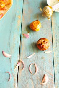 Tikka Spiced baby potato or tandoori aloo