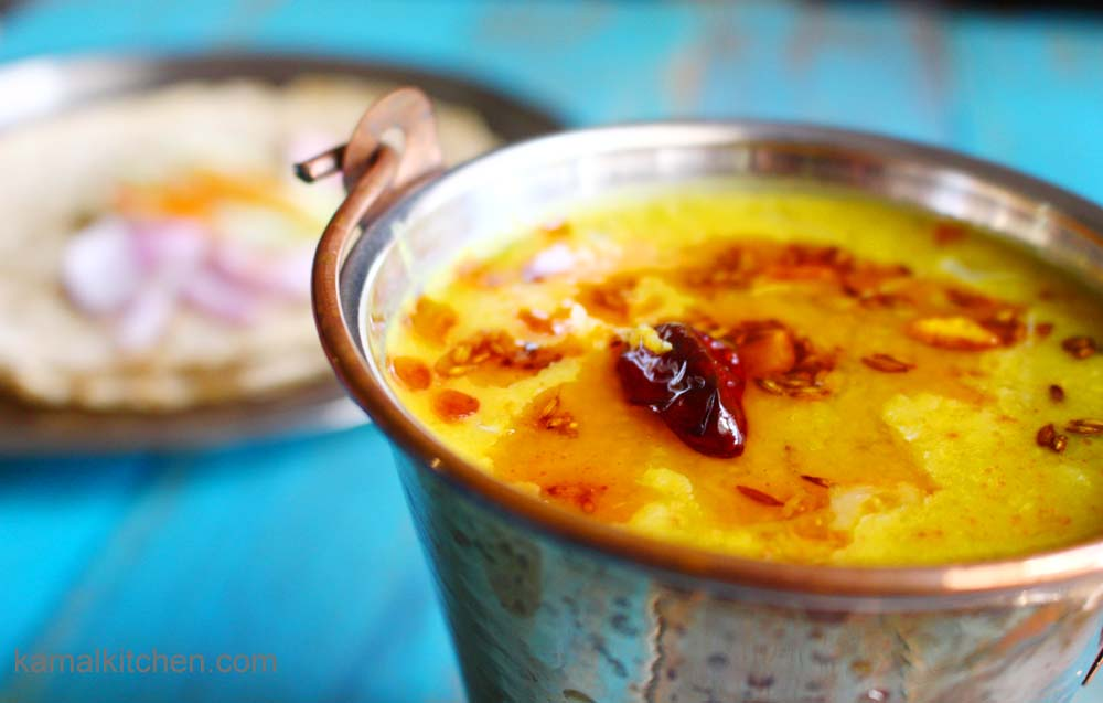 Mango Daal with Turmeric – Summer Vegan Recipe