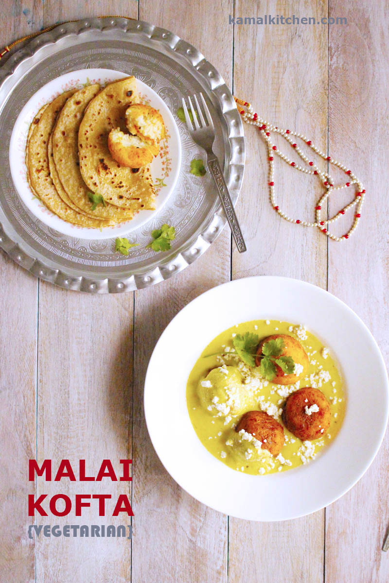 Malai Kofta recipe - Indian vegetarianRecipe