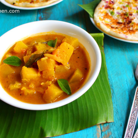 Pumpkin Sambar Recipe – Vegan Lentil Stew for Fall