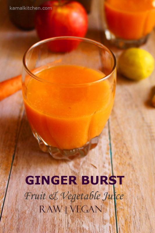 fruit vegetable juice with Kent Cold Pressed Juicer
