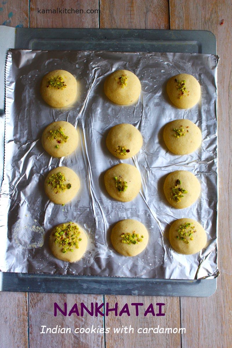 Nankhatai recipe - eggless ghee cookies