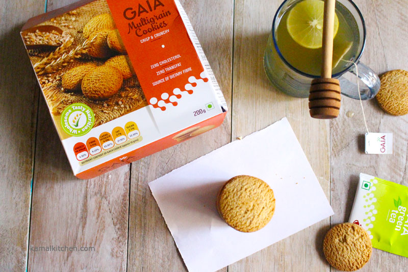 Gaia Multi grain cookies