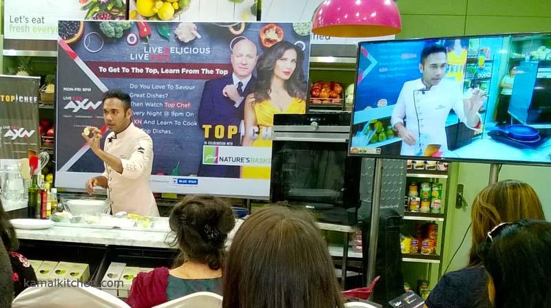 AXN Top Chef Saransh Goila
