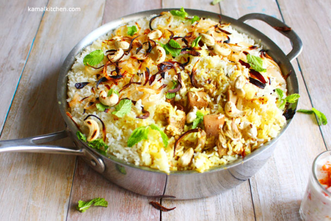 Jackfruit Biryani – Summer Vegetable Biryani Recipe