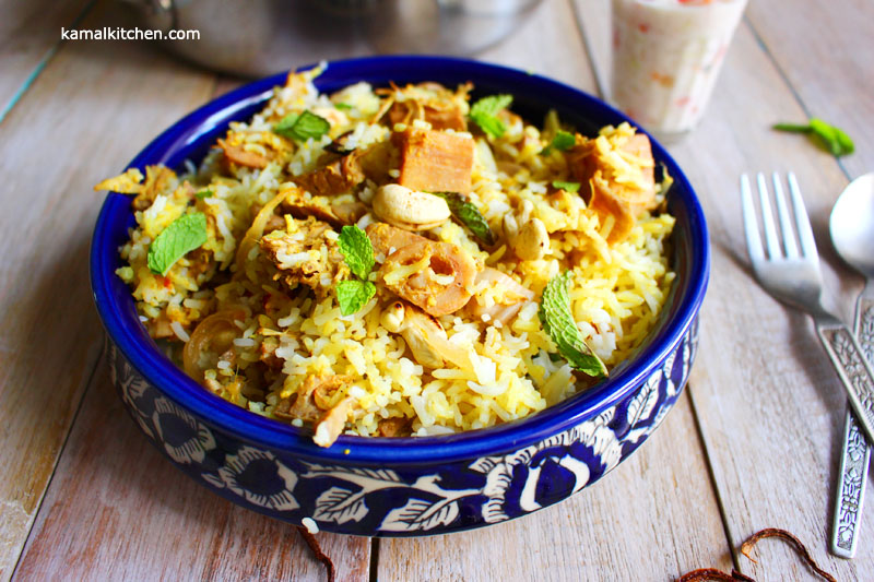 Jackfruit Biryani summer vegetable biryani