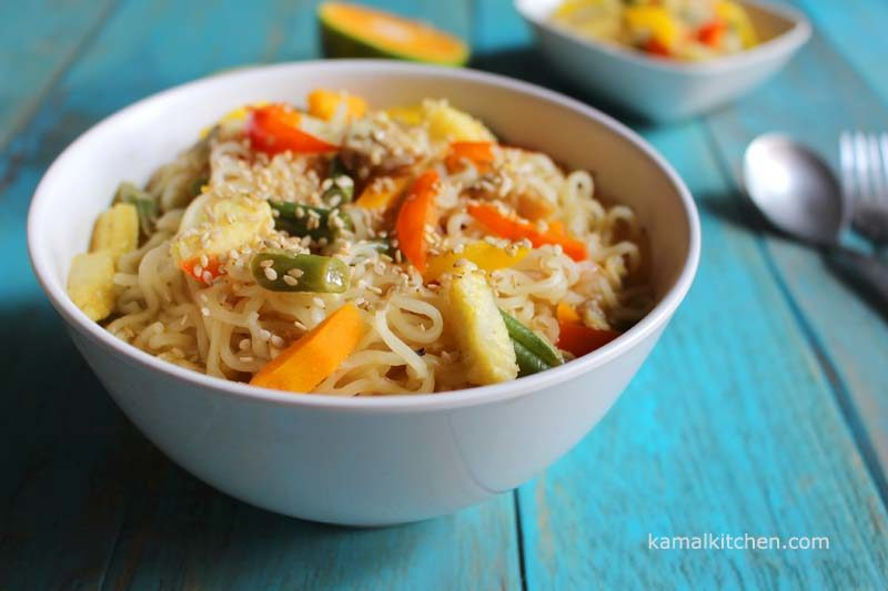 sweet and sour noodles maggi